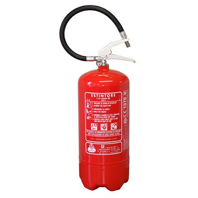 Pii Srl EPP09011/ITA Portable Powder Fire Extinguisher