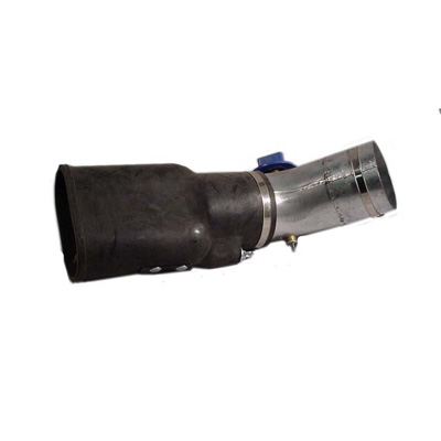 Plymovent Corp. REC rubber nozzle with spring clip