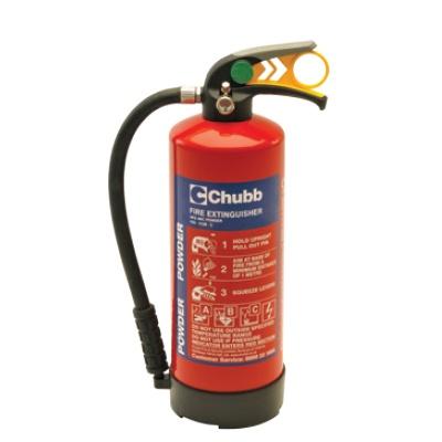 Chubb PO6 ABC powder fire extinguisher