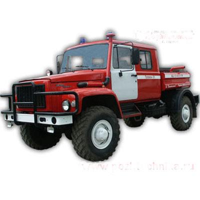 Pozhtechnika AC 1,6-40 GAZ-33081 tank truck