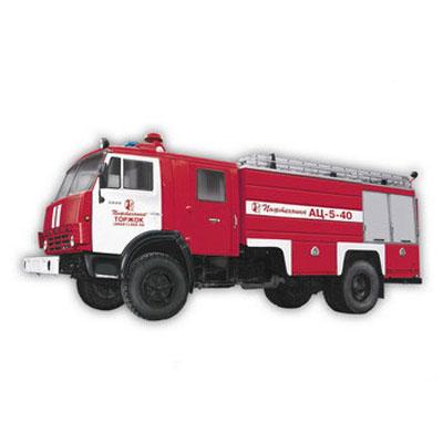 Pozhtechnika AC-5-40-43253 KamAZ tank truck