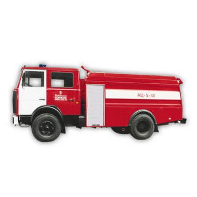 Pozhtechnika AC-5-40 MAZ-533702 tank truck