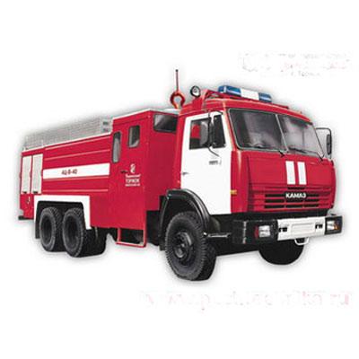 Pozhtechnika AC-8-40 KamAZ-53215 tank truck