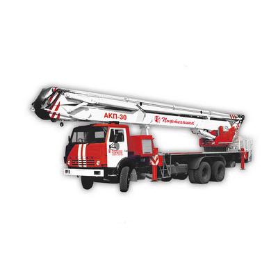 Pozhtechnika AKP-30 KamAZ-53215 fire truck