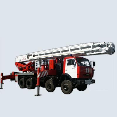 Pozhtechnika AKP-50 KamAZ-6540 car lift