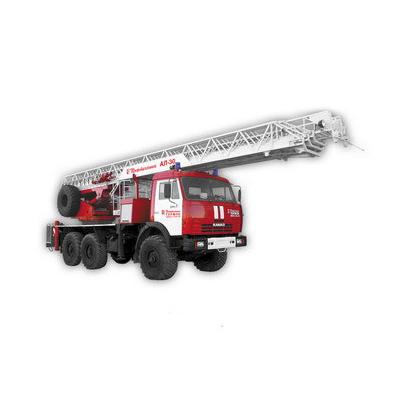 Pozhtechnika AL-30 KamAZ-43114 fire ladder
