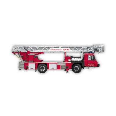 Pozhtechnika AL-30 TATRA-T815 fire ladder