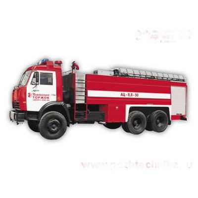 Pozhtechnika KamAZ-53229 tank truck