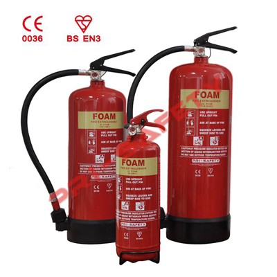 Pri-safety Fire Fighting F6 foam fire extinguisher