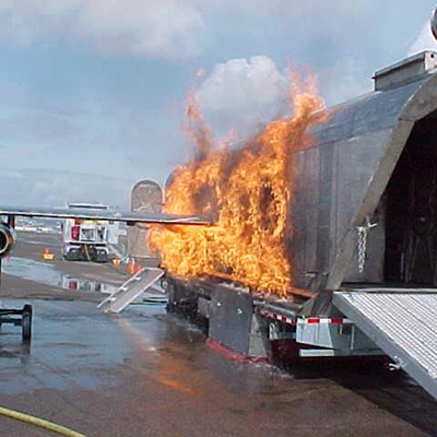 Pro-Safe Fire Training Systems Mobile Aircraft Fire Trainer (MAFT)