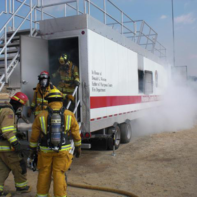 Pro-Safe Fire Training Systems Mobile Structural Training Unit