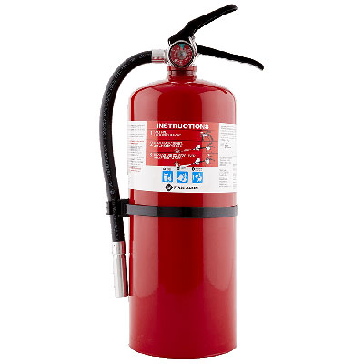 First Alert PRO10fire extinguisher