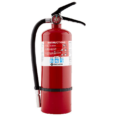 First Alert PRO5 portable fire extinguisher