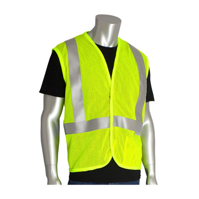 Protective Industrial Products 305-2000-4X flame-resistant solid vest