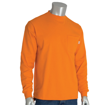 Protective Industrial Products 385-FRLS-LG-3X flame-resistent long sleeve t-shirt