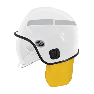 Protective Industrial Products 841-0346 jet-style structural fire helmet