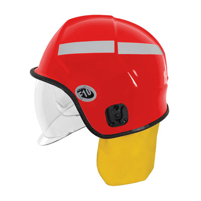 Protective Industrial Products 841-0347 jet-style structural fire helmet