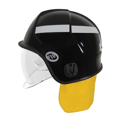 Protective Industrial Products 841-0348 jet-style structural fire helmet