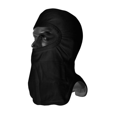 Protective Industrial Products 906-2080NOL7BLK double layer straight cut full face hood