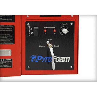 PyroLance PYROFOAM foam pump system