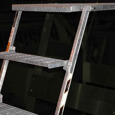 R-O-M Bustin Steel EZ-Out Platform