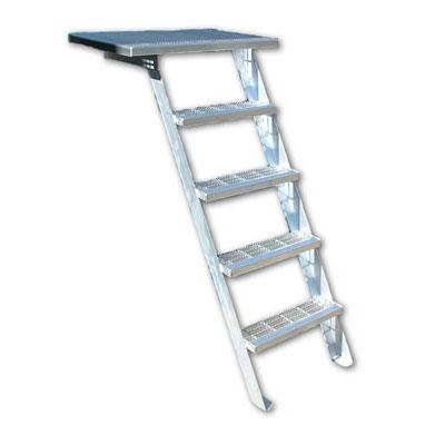 R-O-M DE1101 bustin portable aluminum ladder