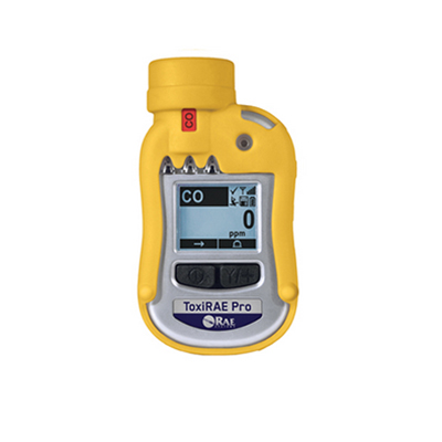 RAE Systems ToxiRAE Pro wireless monitor for toxic gases and oxygen