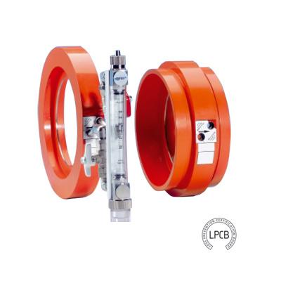 Rapidrop DN100 Flanged sprinkler system flow meter