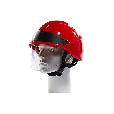 Rosenbauer 157008 HEROS-smart Red Firefighting Helmet