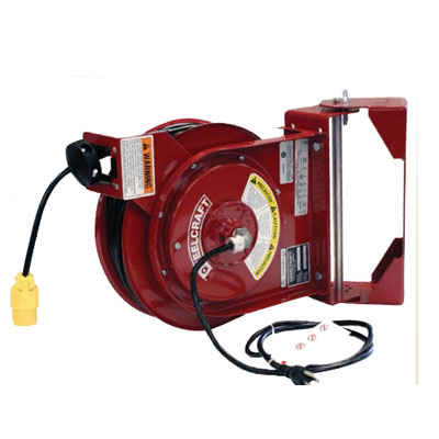 Reelcraft L 4050 162 2SB hose reel with swing bracket