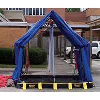 Reeves EMS RDPK0001 individual hospital response decontamination system