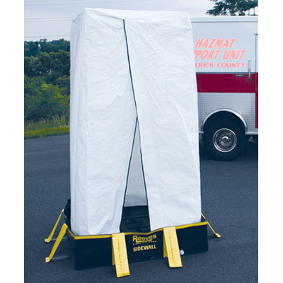 Reeves EMS RDPK0120 single stall PVC shower systems