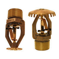 Reliable Automatic Sprinklers GL 112 upright and pendent sprinkler
