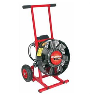 Rescue Technology Ramfan EV400/420 variable speed electric PPV turbo blower
