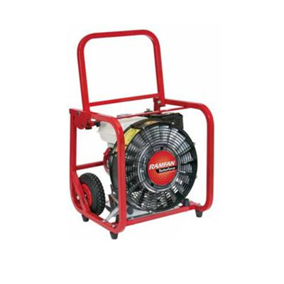Rescue Technology Ramfan GF165SEPPV turbo blower with 5HP engine