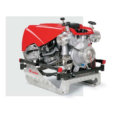 Rosenbauer Fox Portable Pump with fully automatic piston priming pump