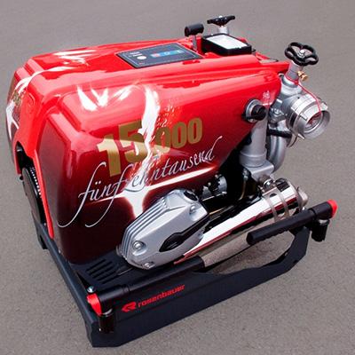 Rosenbauer Fox portable fire pump