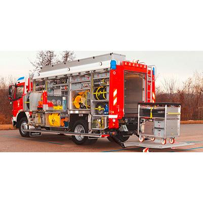 Rosenbauer Hazmat CL hazmat and decontamination vehicle