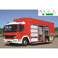 Rosenbauer Hazmat GWG SOF vehicle for large-scale operations