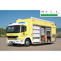 Rosenbauer Hazmat SOF decontamination vehicle