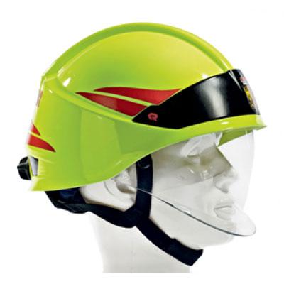 Rosenbauer HEROS-smart with optional eye protection visor