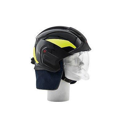 Rosenbauer 157384 HEROS-titan Pro Black Structural Fire Fighting Helmet