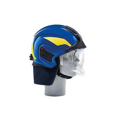 Rosenbauer 157386 HEROS-titan Pro Blue Structural Fire Fighting Helmet