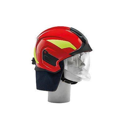 Rosenbauer 157383 HEROS-titan Pro Red Structural Fire Fighting Helmet