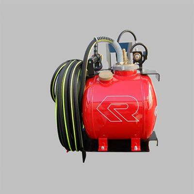 Rosenbauer Poly Bike SL35/50 extinguishing system for motorbike installation