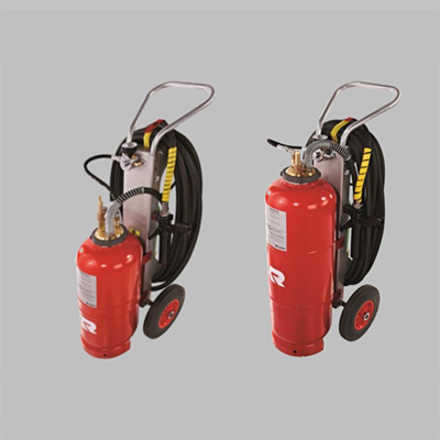 Rosenbauer Poly Trolley SL35/50 drivable CAFS extinguisher