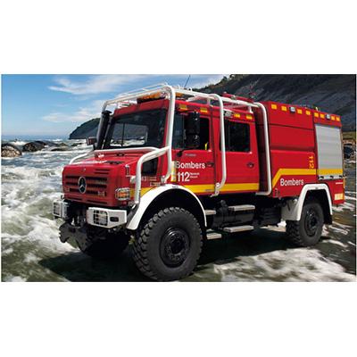 Rosenbauer TLF 3300/200 forest firefighting vehicle