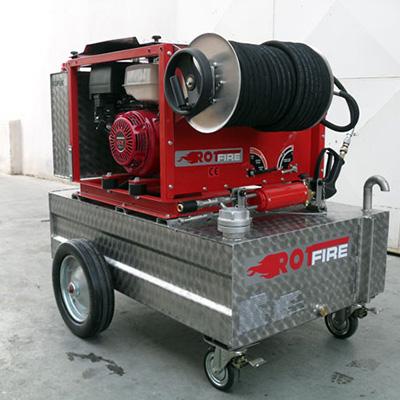 Rotfire B 30 gasoline engine systems