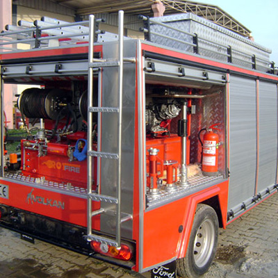 Rotfire B 60 fire fighting system