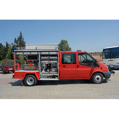 Rotfire D 60 fire fighting system with diesel engines